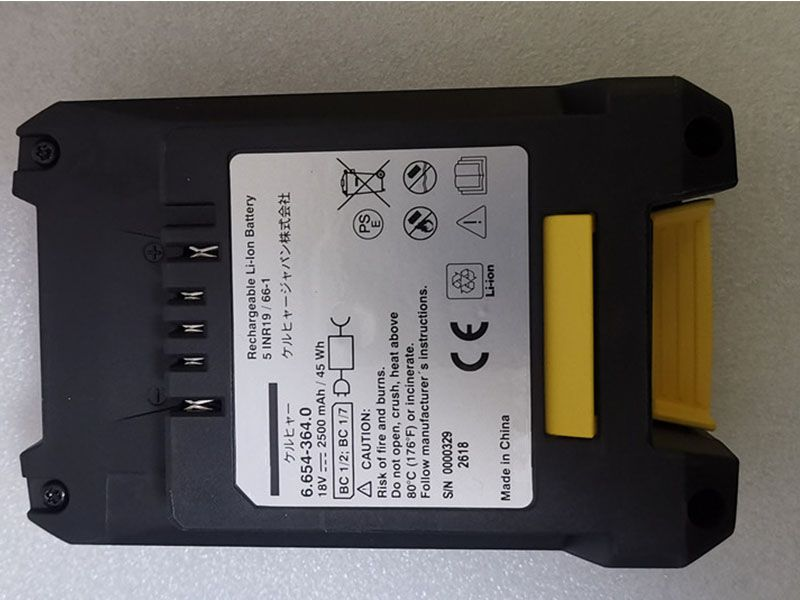 KARCHER 6-654-364-0 Kompatibler akku