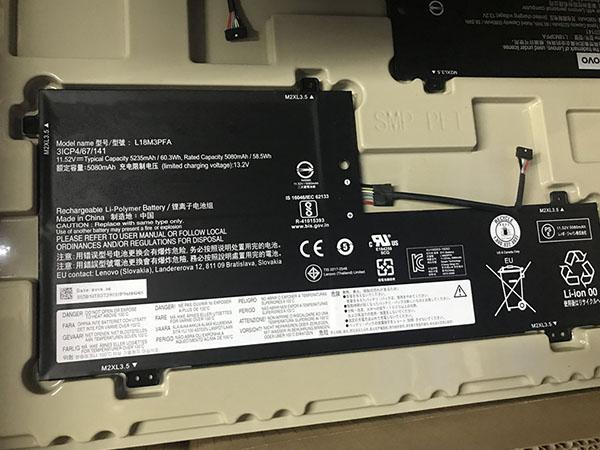 Lenovo L18M3PFA Laptop akku