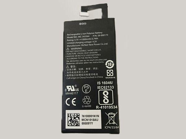 MCNAIR 58-000173 Kompatibler akku
