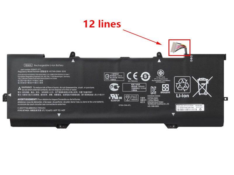 HP YB06XL Laptop akku